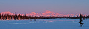 Alaska Photos - Mnt McKinley Rising by Ed Boudreau