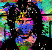 Jim Morrison Photo Prints - Mo Jo Risen  Print by Jerry Cordeiro