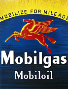 Advertisement Photos - Mobil Advertisement, 1935 by Granger