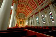 Mobile Digital Art Originals - Mobile Cathedral Interior by Michael Thomas