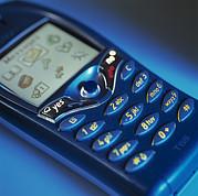 Mobile Phone Print by Tek Image