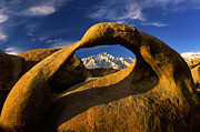 Alabama Hills Framed Prints - Mobius Arch Framed Print by Inge Johnsson
