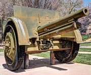 Artillery Metal Prints - Model 05-08 Skoda Field Gun - Austria - Hungary  Metal Print by Gary Whitton