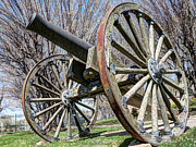 Artillery Metal Prints - Model 1857 - Napolean - Gun Howitzer  Metal Print by Gary Whitton