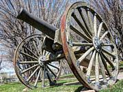 Model 1857 - Napolean - Gun Howitzer  Print by Gary Whitton