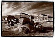 Town Photo Originals - Model A Bodie by Steve Gadomski