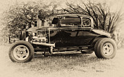 Ford Model A Framed Prints - Model A Ford Framed Print by Bill Cannon