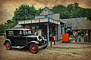 Model A Station Print by Marty Koch