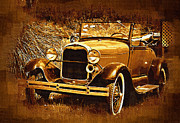 Model A Digital Art Posters - Model A1 Poster by Dale Stillman