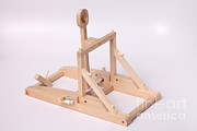 Energy Conversion Prints - Model Catapult Print by Ted Kinsman