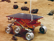 Rover Posters - Model Of The Mars Pathfinder Rover Sojourner Poster by Nasa