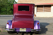 Purple Ford Photos - Model T Ford Rear End 2 by Susan  Lipschutz