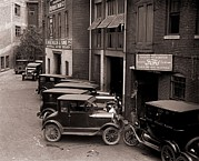 Ford Model T Car Photo Prints - Model Ts, And One More Luxurious Print by Everett