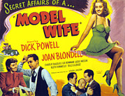 Husband And Wife Posters - Model Wife, Joan Blondell, Dick Powell Poster by Everett