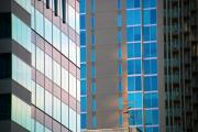 Buildings In Nashville Prints - Modern Architecture Photography Print by Susanne Van Hulst