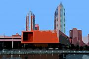 Art Museum Digital Art - Modern Tampa by David Lee Thompson