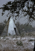 Shed Framed Prints - Modern Tepee Framed Print by Fred Lassmann