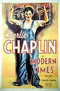 Modern Times, Charlie Chaplin, 1936 Print by Everett