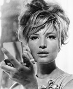 1960s Portraits Framed Prints - Modesty Blaise, Monica Vitti, 1966 Framed Print by Everett
