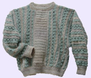 Gift Tapestries - Textiles - Mohair Sweater by Shirley Heyn