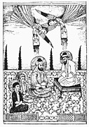 7th Century Photos - Mohammed, Ali, And Hasan by Granger