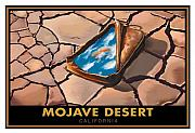 Dry Lake Paintings - Mojave Dry Lake by Steve Beaumont