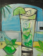 Bistro Paintings - Mojito by Tim Nyberg