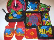 Clutch Bag Originals - Mola by Rita  Smith