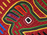 Handcrafted Art - Mola Textiles of Panama by Kathy Clark