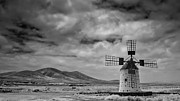 Windmill Framed Prints - Molino De Cotillo Framed Print by Martin Zalba is a photographer looking for a personal look,
