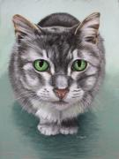 Mammal Pastels - Molly by Deb LaFogg-Docherty