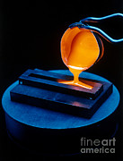 Furnace Prints - Molten Metal Print by U.S. Department of Energy
