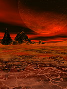Extrasolar Planet Photos - Molten Planet by Take 27 Ltd