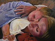 Commision Art - Mom and Son by Catalina Rankin