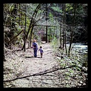 Child Photos - #mom #child #path #river #autism by Joseph Mark Bright