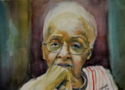 African-american Painting Prints - Mom Print by Gary Williams