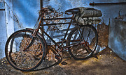 Mombasa Framed Prints - Mombasa Bicycle Framed Print by Justy White
