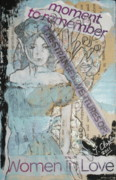 Young Girl Mixed Media Originals - Moment to remember by Joanne Claxton
