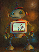Juvenile Paintings - Moments by Jeff Goodsell