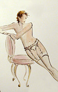 Seductive Drawings - Moments by Lonnie Tapia