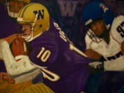 Football Pastels - Momentum featuring Jake Locker by D Rogale