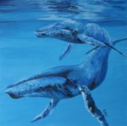Ocean Mammals Originals - Mommas Babe by Leonie Bell