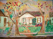Asphalt Paintings - Moms House by James Christiansen