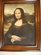 Anne-Elizabeth Whiteway - Mona Lisa after Da Vinci