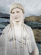 Mona Lisa  Print by Karine Percheron-Daniels