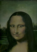 Anne-Elizabeth Whiteway - Mona Lisa Partial view Dad
