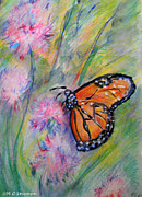 Gardener Mixed Media - Monarch Butterfly by M C Sturman