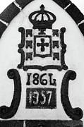 Monarchy Symbols Print by Gaspar Avila