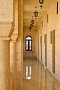 Turkey Metal Prints - Monastery Corridor Metal Print by Michele Burgess
