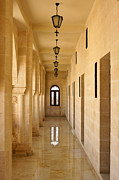 Turkey Metal Prints - Monastery Passageway Metal Print by Michele Burgess